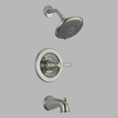 Delta Porter Monitor 14 Series Diverter Tub and Shower Faucet Trim