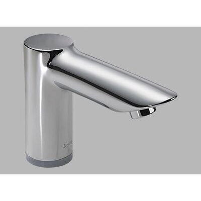 Grail Commercial Deck Mount Electronic Lavatory Faucet with Brass Spout and Hands-Free Operation