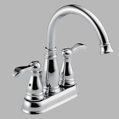 Delta Porter Centerset Bathroom Faucet with Double Lever Handles