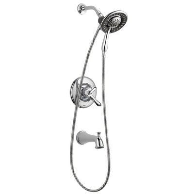 Delta Linden Monitor 17 Series Tub and Shower with In2ition® Two-in-One Shower