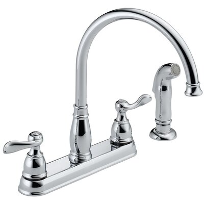 Foundations Windemere Two Handle Centerset Kitchen Faucet