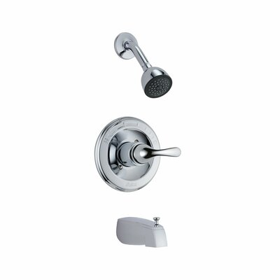Delta Classic Diverter Tub and Shower Faucet Trim