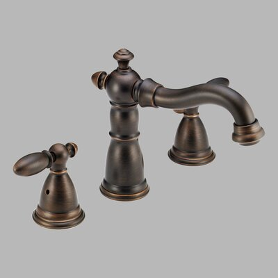 Delta Victorian Double Handle Deck Mount Roman Tub Faucet Trim