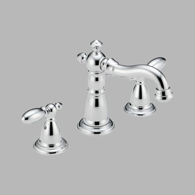 Victorian Widespread Bathroom Faucet with Double Lever Handles - 3555LF-216