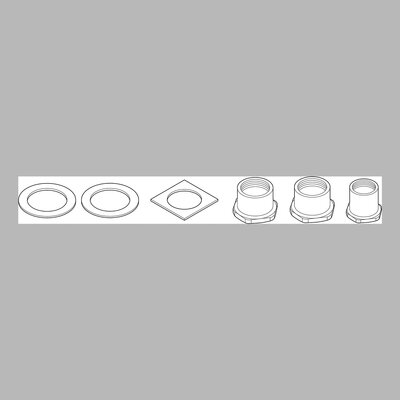 Delta Thick Deck Mounting Kit for Waterfall 2 Handle Kitchen Faucet