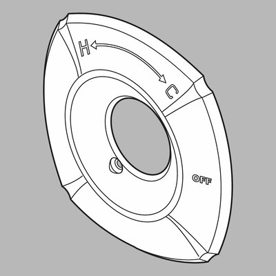 Delta Addison 14 Series Escutcheon