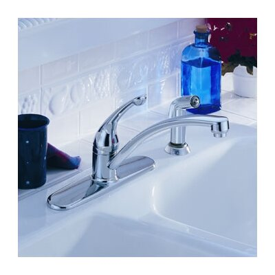 Moen Chateau Single Handle Centerset Kitchen Faucet With