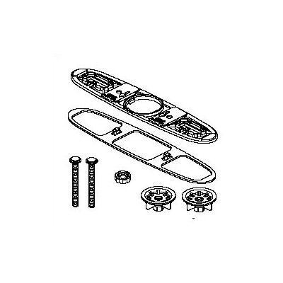 Delta Bolts, Gasket, Base Plate and Locknuts Kitchen Faucet