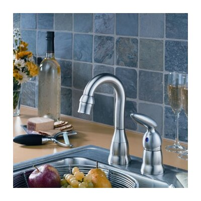Delta Michael Graves Single Handle Widespread Bar/Prep Faucet with Lever Handle