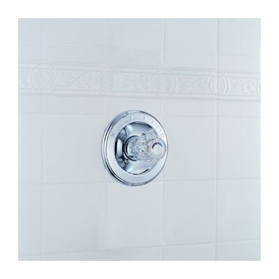 Delta Classic Pressure Balanced Valve Trim with Knob Handle
