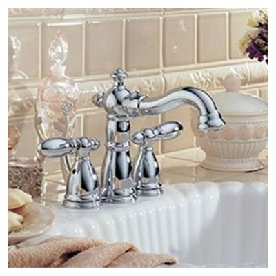 Delta Victorian Mini-Widespread Bathroom Faucet with Double Lever Handles