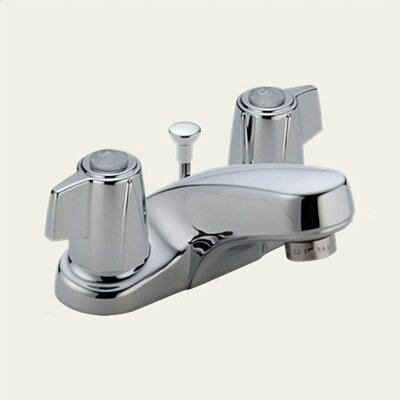 Delta Classic Centerset Bathroom Faucet with Double Lever Handles
