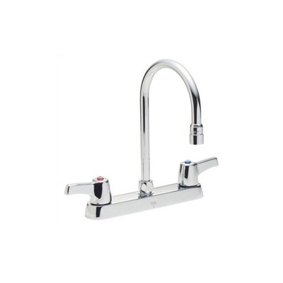 Delta Commercial Series Two Handle Centerset Kitchen Faucet