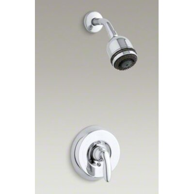 Kohler Coralais Shower Faucet Trim with Lever Handle and Mastershower 3-Way Showerhead