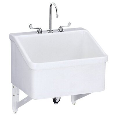 Faucet Utility Sink : ... Utility Sink with 8