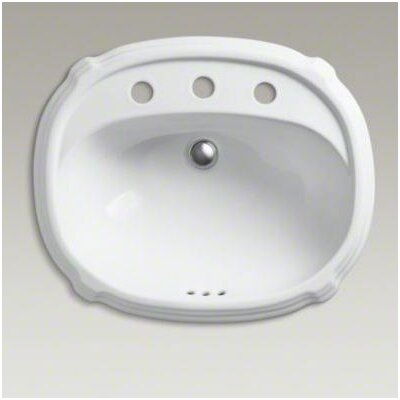 "Kohler Portrait Self-Rimming Lavatory with 8"" Centers"