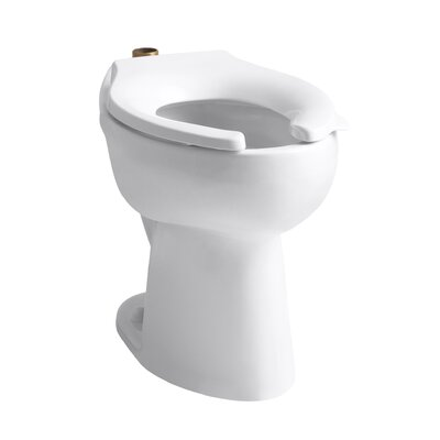 Kohler Highcliff Elongated Toilet Bowl with Top Spud