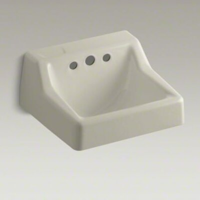 "Kohler Hampton 19"" X 17""  Wall-Mounted Bathroom Sink Less Triton Faucet"