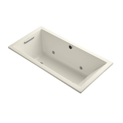 "Kohler Underscore 60"" X 30"" Drop-In Bubblemassage Air Bath with Chromatherapy"