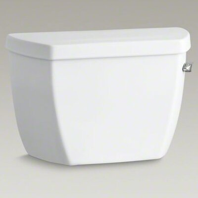Kohler Highline Classic 1.0 Gpf Toilet Tank with Tank Cover Locks and Right-Hand Trip Lever