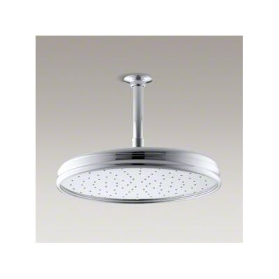 "Kohler Traditional Round 12-7/6"" Rainhead with Katalyst Spray, 2.5 GPM"