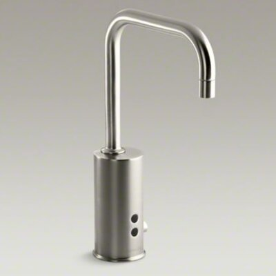 Hybrid Gooseneck Touchless Deck-Mount Faucet with Mixer - 7519