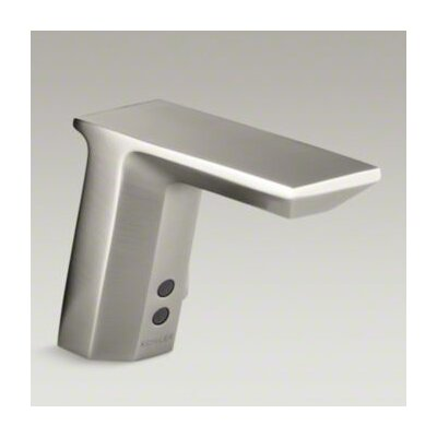 Hybrid Geometric Touchless Deck-Mount Faucet with Mixer - 7517