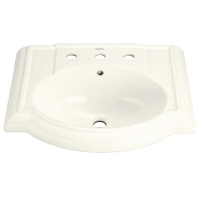 Devonshire Pedestal Bathroom Sink Set with Single-Hole Drilling - K-2287