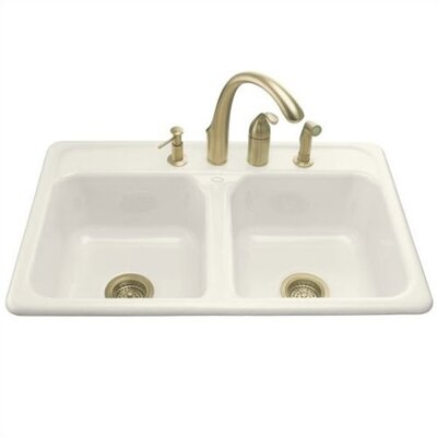 Kohler Delafield Self-Rimming Kitchen Sink