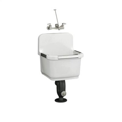 Kohler Sudbury Service Sink for Wall Mount Faucet