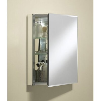 "Kohler Single Door 20""W X 26""H X 5""D Aluminum Cabinet with Mirrored Door"