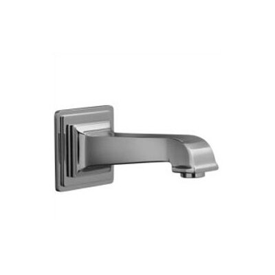 "Kohler Pinstripe Pure Wall-Mount, 6-7/8"" Non-Diverter Bath Spout"