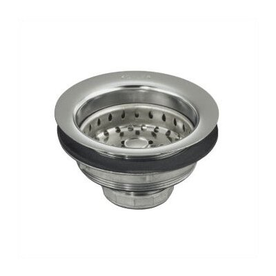 Kohler Stainless Steel Sink Strainer, Less Tailpiece