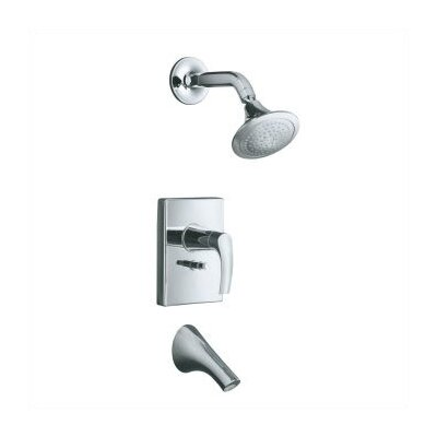 Kohler Symbol Thermostatic Rite-Temp Pressure-Balancing Bath and Shower Faucet Trim