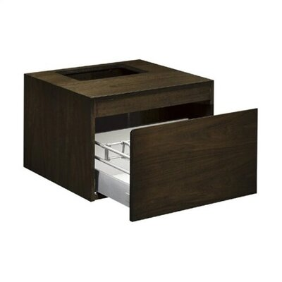 Kohler Purist Wall Mount Vanity Base with Cut Out
