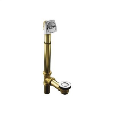 "Kohler Clearflo 1-1/2"" Adjustable Pop-Up Drain with Above- Or Through-The-Floor Installations for 17"" - 24"" Deep Baths"
