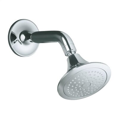 Kohler Symbol Single-Function Shower Head with Arm and Flange