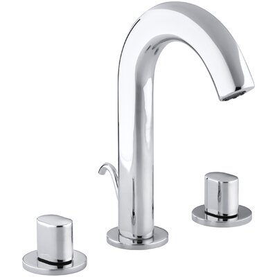 Oblo Widespread Bathroom Faucet with Oval Handles - 10086-9