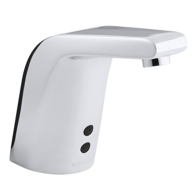 Sculpted Touchless Ac-Powered Deck-Mount Faucet - 13463