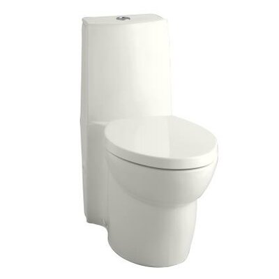 Saile 0.8 GPF / 1.6 GPF Elongated 1 Piece Toilet with Dual Flush Technology