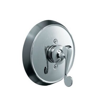 Kohler Revival Rite-Temp Pressure-Balancing Valve Trim with Scroll Lever Handle