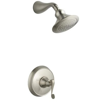 Kohler Revival Thermostatic Rite-Temp Pressure-Balancing Shower Faucet Trim with Scroll Lever Handle