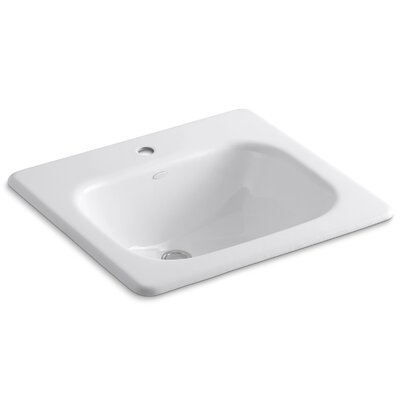 Tahoe Self-Rimming Lavatory with Single-Hole Drilling - 2895-1
