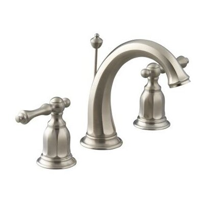 Kohler Kelston Widespread Bathroom Faucet with Double Lever Handles