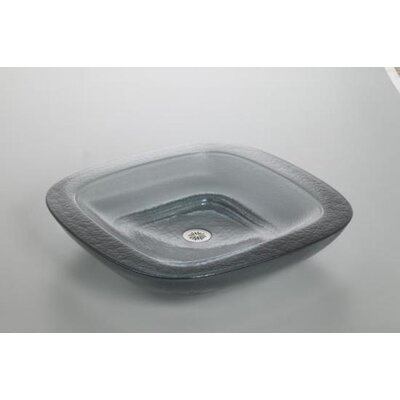Kohler Toric Cast Glass Plain Vessels Lavatory