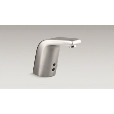 Kohler Sculpted Single-Hole Touchless Ac-Powered Commercial Bathroom Sink Faucet
