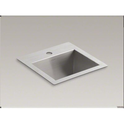 "Kohler Vault 15"" x 15"" Top Mount / Under Mount Bar Sink"