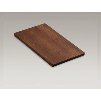 Kohler Indio Hardwood 18.25&quot; x 10.5&quot; Cutting Board