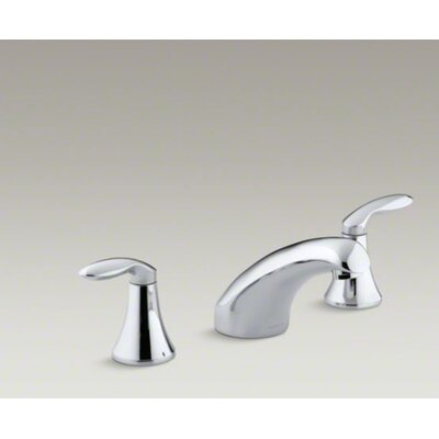 Kohler Coralais Bath-Mount High-Flow Bath Faucet Trim with Lever Handles