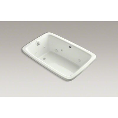 "Kohler Bancroft 66"" X 42"" Drop-In Whirlpool Bath with Custom Pump Location and Heater Without Jet Trim"
